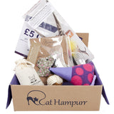 [product _vendor] Cat Toy Gift Box- Playtime Hampurr - STYLETAILS
