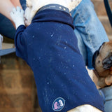 [product _vendor] Ink Splatter Dog Sweater - Navy - STYLETAILS