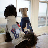 [product _vendor] Patchwork Dog Sweater - Grey - STYLETAILS