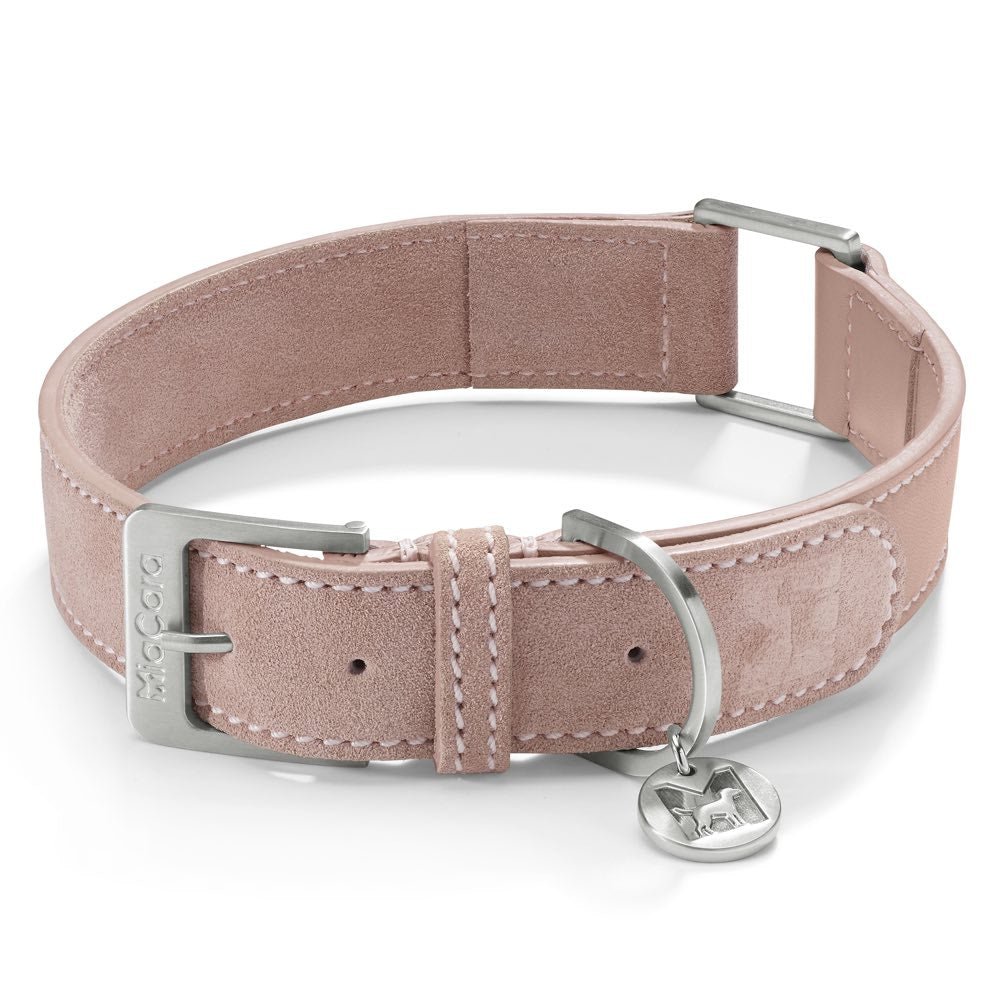 [product _vendor] Como Suede Dog Collar - STYLETAILS