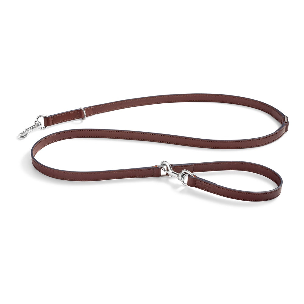 [product _vendor] Bergamo Long Leather Dog Lead - STYLETAILS