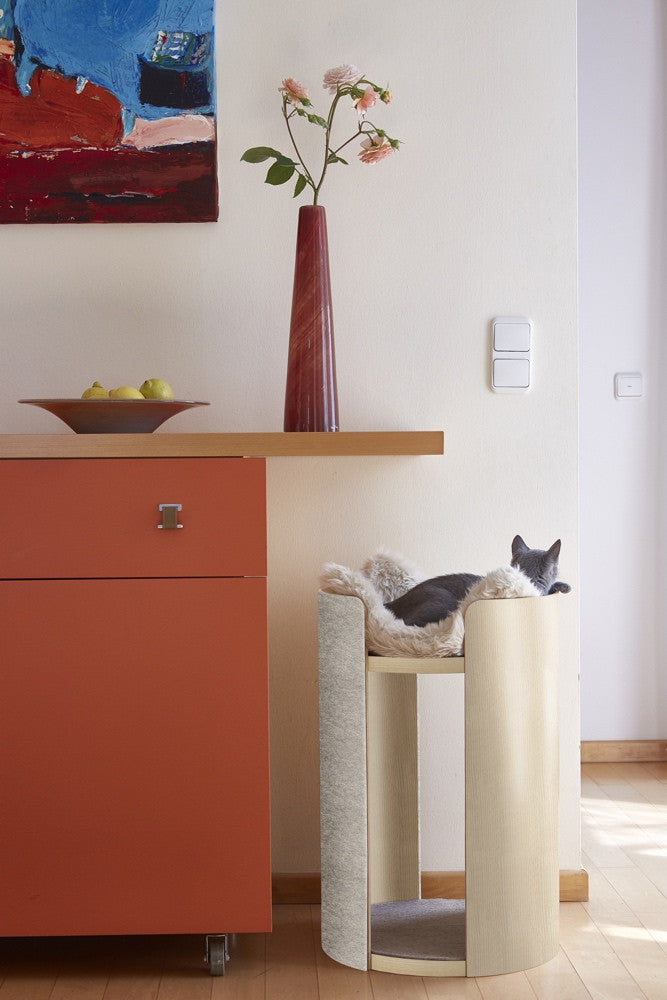 [product _vendor] Torre Cat Scratching Post - STYLETAILS