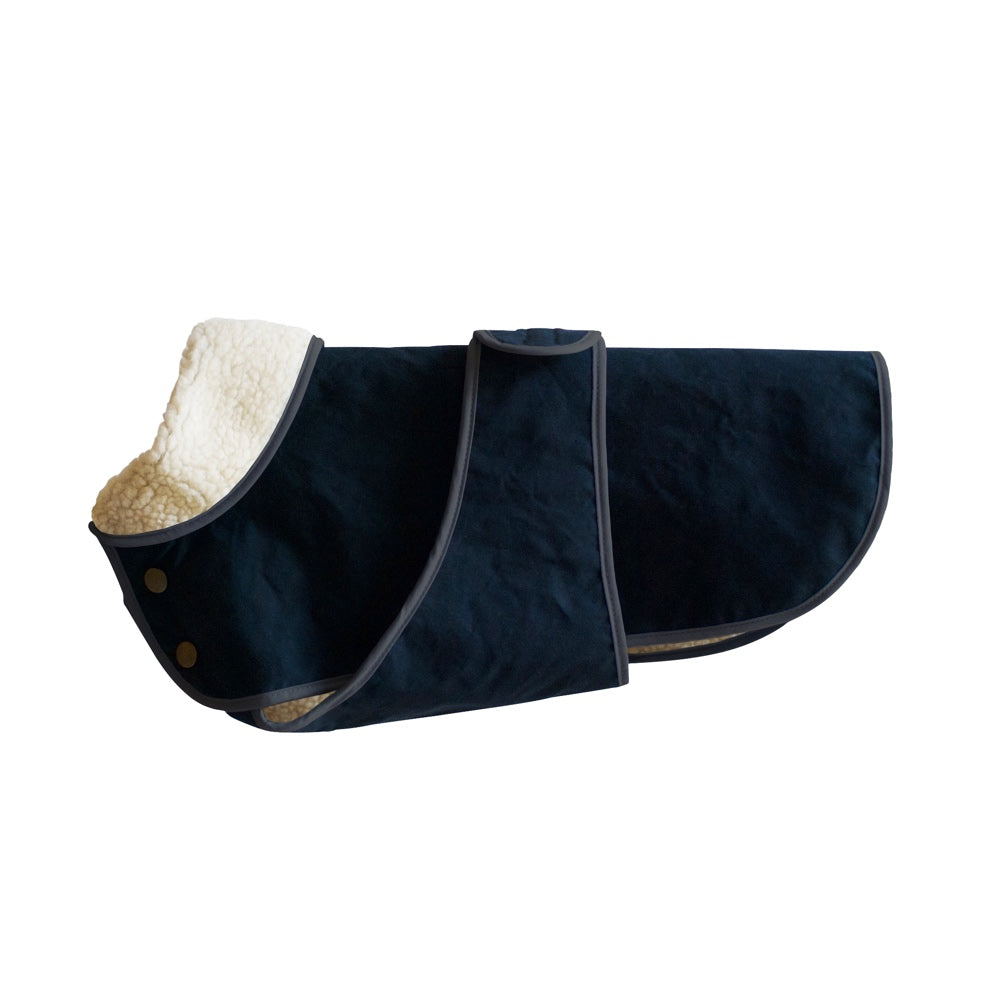 Winter Dog Coat - Indigo Blue