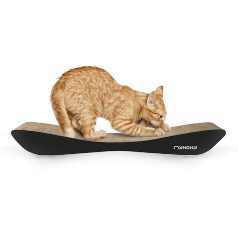 LUI Cardboard Cat Scratcher Lounge - Black