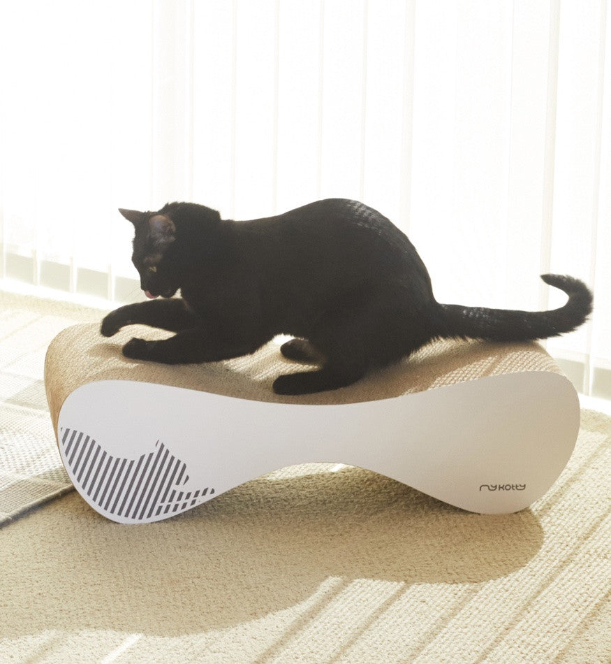 VIGO Cardboard Cat Scratcher Lounge MYKOTTY