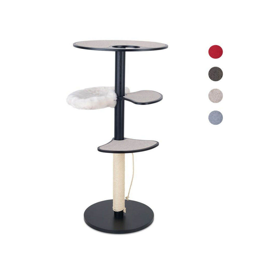 [product _vendor] Black Free Standing Cat Tree - STYLETAILS