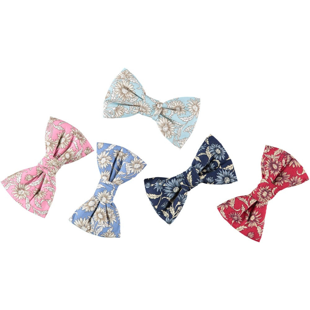 [product _vendor] Daisy Print Dog Bow Tie - STYLETAILS