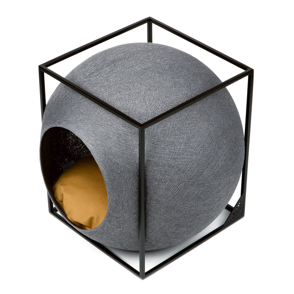 [product _vendor] The Cat Cube - Dark Grey - STYLETAILS