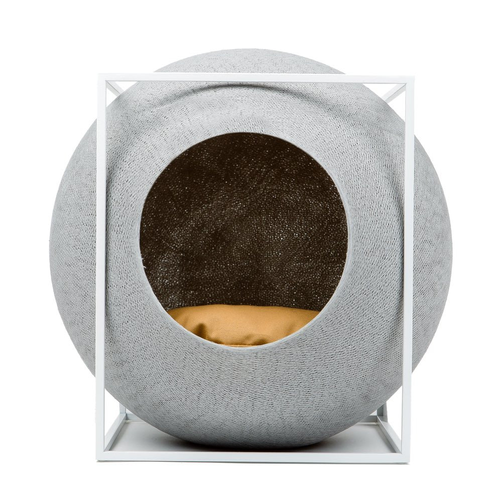 The Cat Cube - Light Grey Meyou