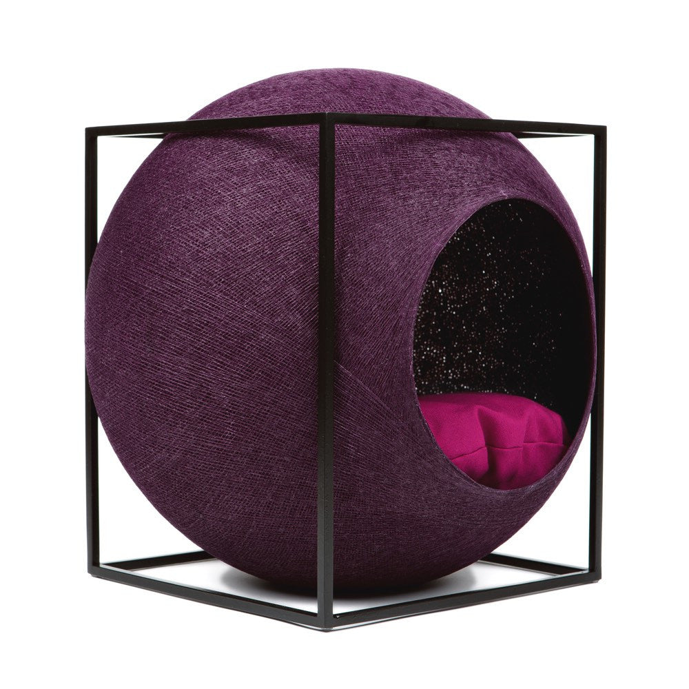 The Cat Cube - Plum