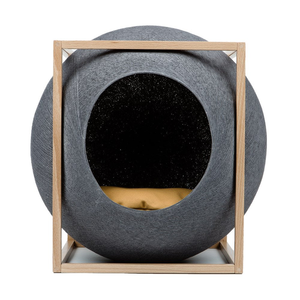 The Cat Cube - Dark Grey Meyou