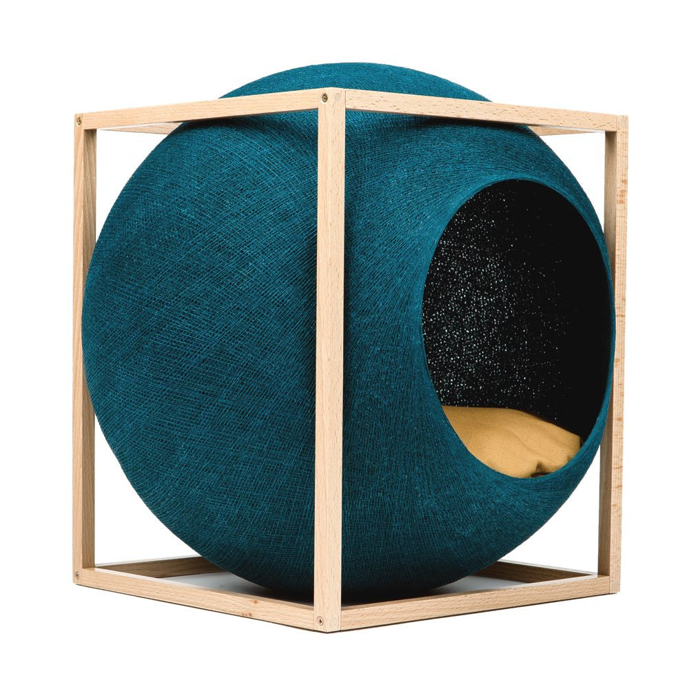 The Cat Cube - Peacock
