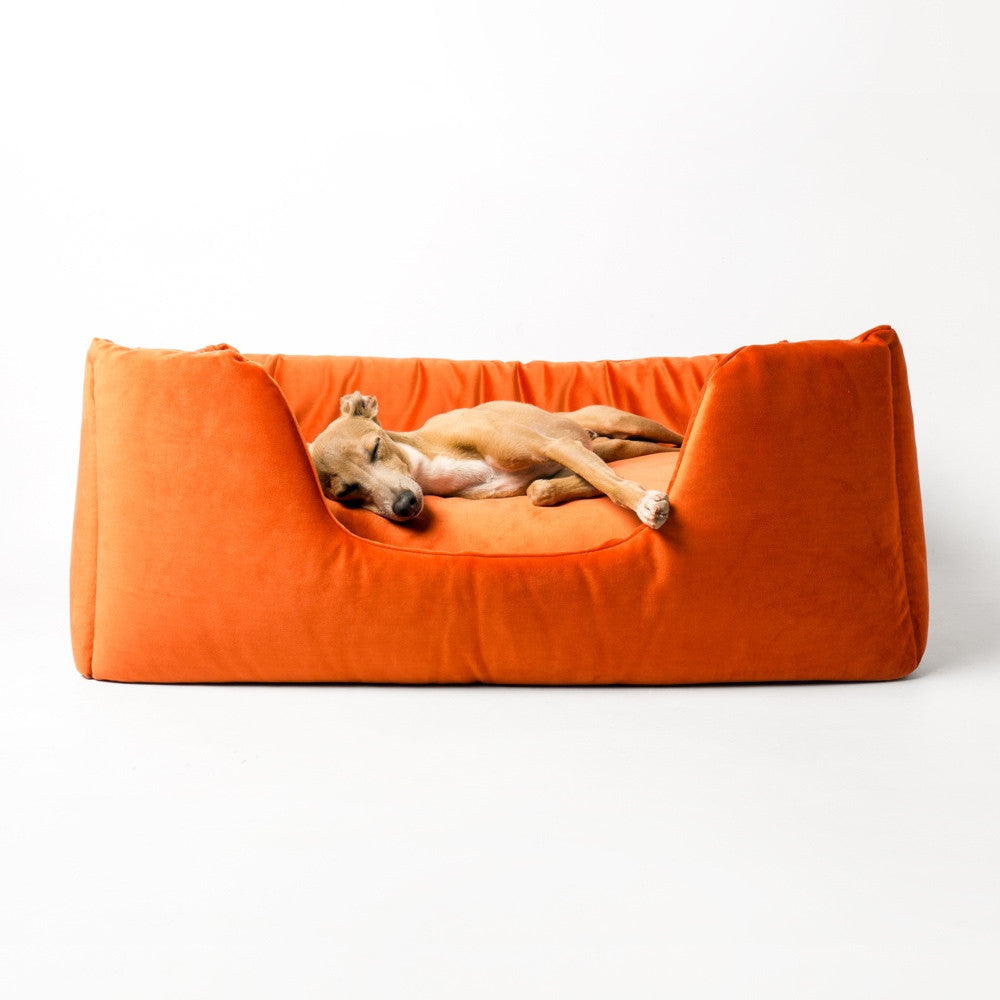 [product _vendor] Deeply Dishy Dog Bed - Velour - STYLETAILS