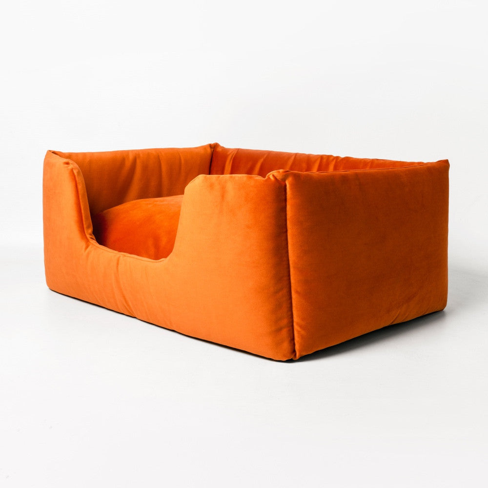 Deeply Dishy Dog Bed Velour Charley Chau