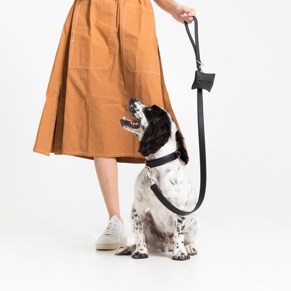 [product _vendor] London Tidy - Leather Dog Poop Bag Holder - STYLETAILS