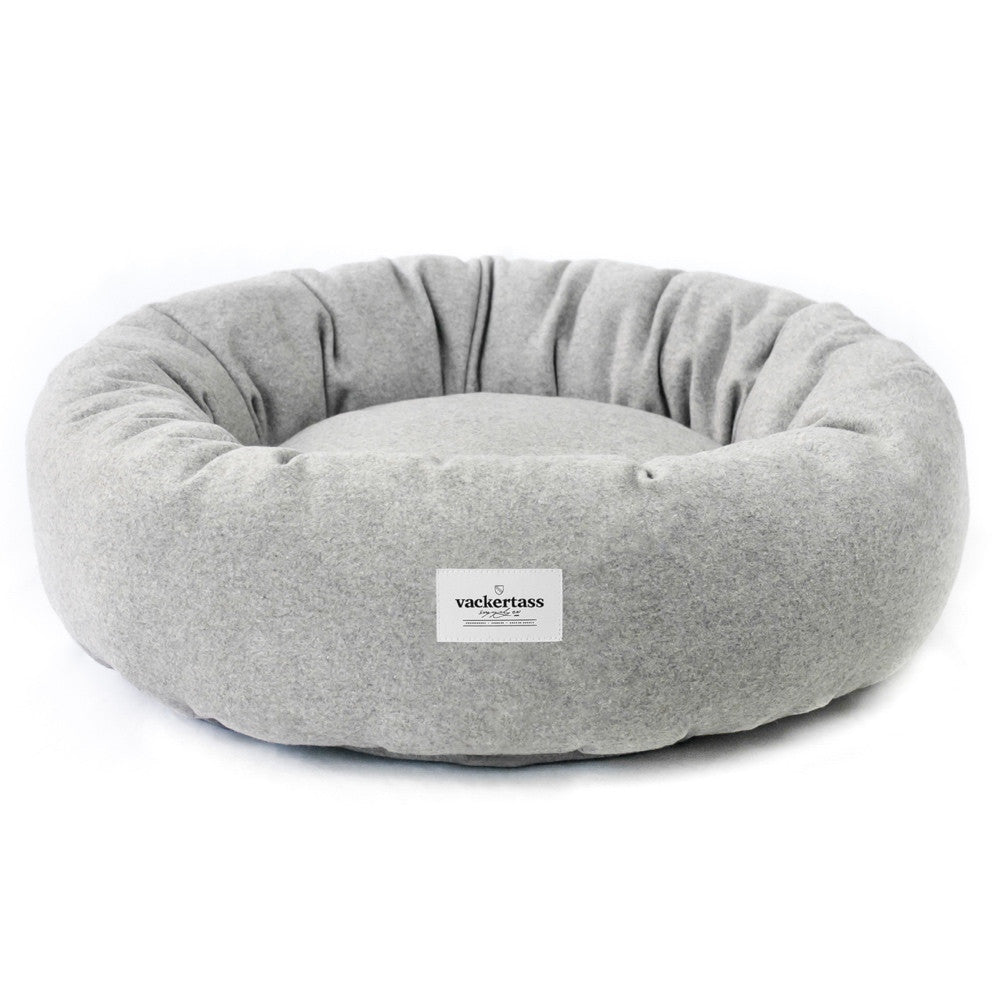 Wool Donut Dog Bed