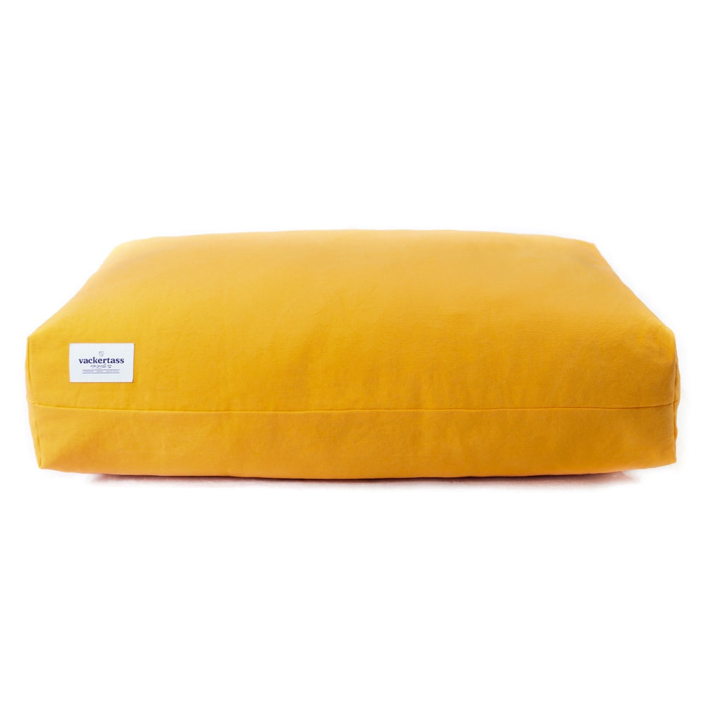 [product _vendor] Cotton Box Pillow Dog Bed - STYLETAILS