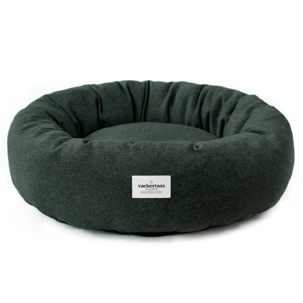 [product _vendor] Wool Donut Dog Bed - STYLETAILS