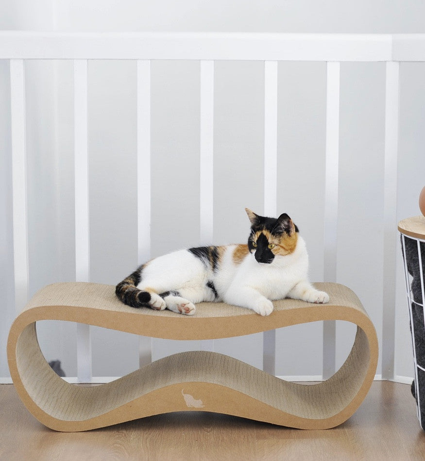LUI Cardboard Cat Scratcher Lounge MYKOTTY