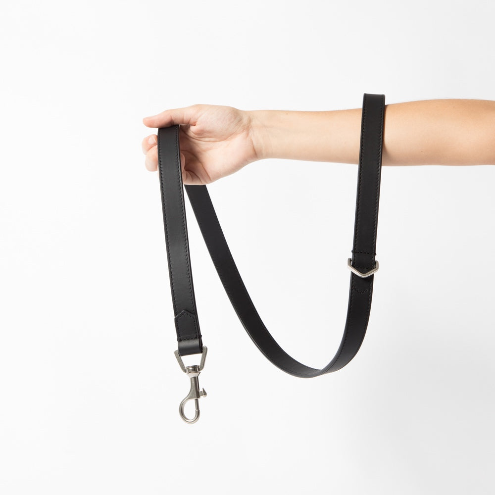 [product _vendor] London Leather Dog Lead - STYLETAILS