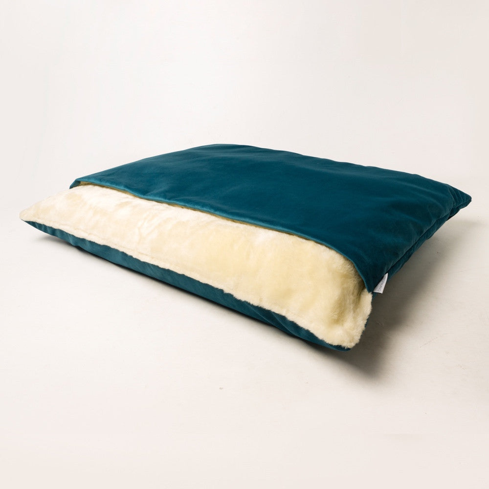 Luxury Dog Snuggle Bed Velour Charley Chau