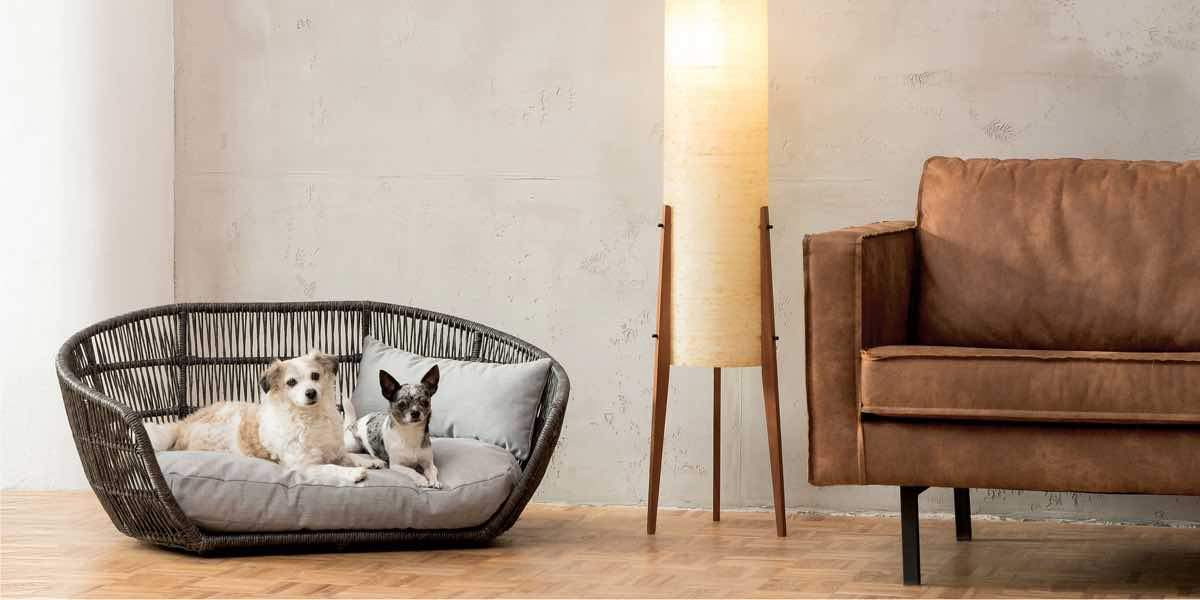 designer dog beds by Laboni
