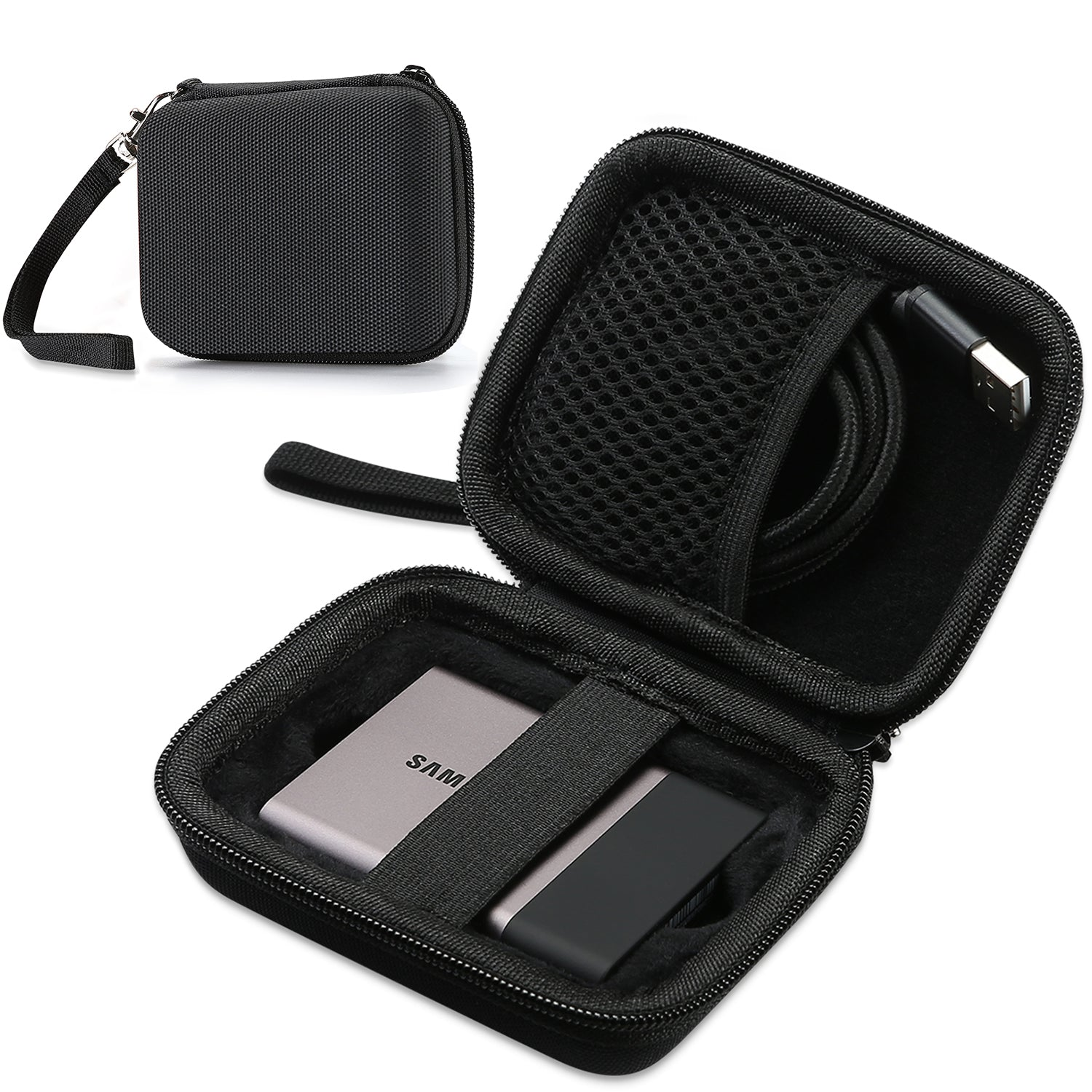 Travel Carrying Case for Samsung T5 T3 | ProCase
