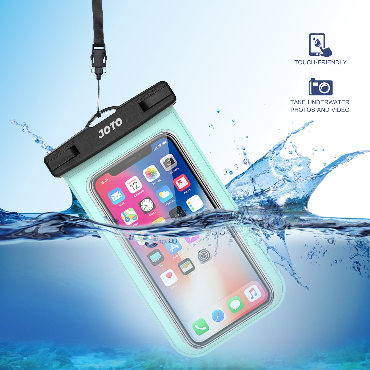 2 Pack Waterproof Pouch | JOTO