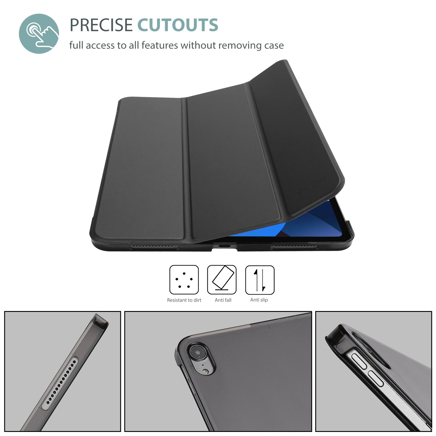 New iPad Air 10.9 4th 2020 Generation Smart Case  | ProCase