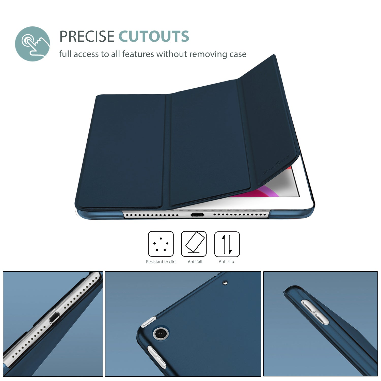 iPad 10.2 7th/8th 2019 2020 Generation Slim Case | ProCase