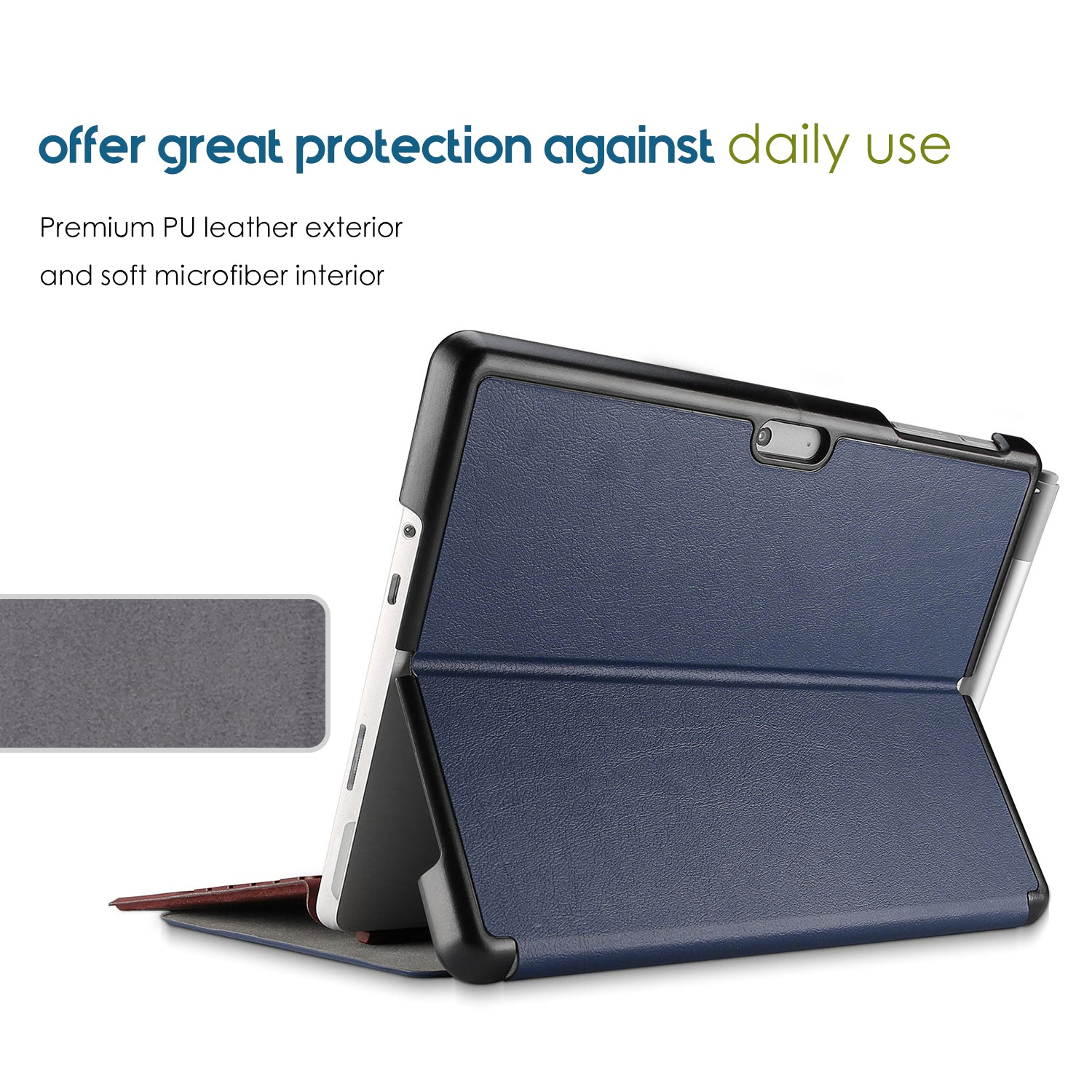 Surface Pro 6/5th/4th Generation Slim Case with Pen Holder | ProCase
