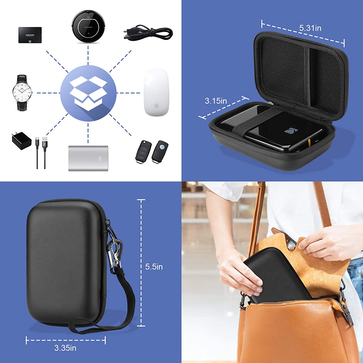 Canon Ivy Mobile Mini CLIQ Carrying Case | ProCase