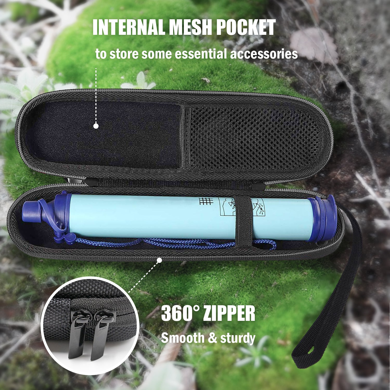 Travel Carrying Case for LifeStraw Personal Water Filter | ProCase