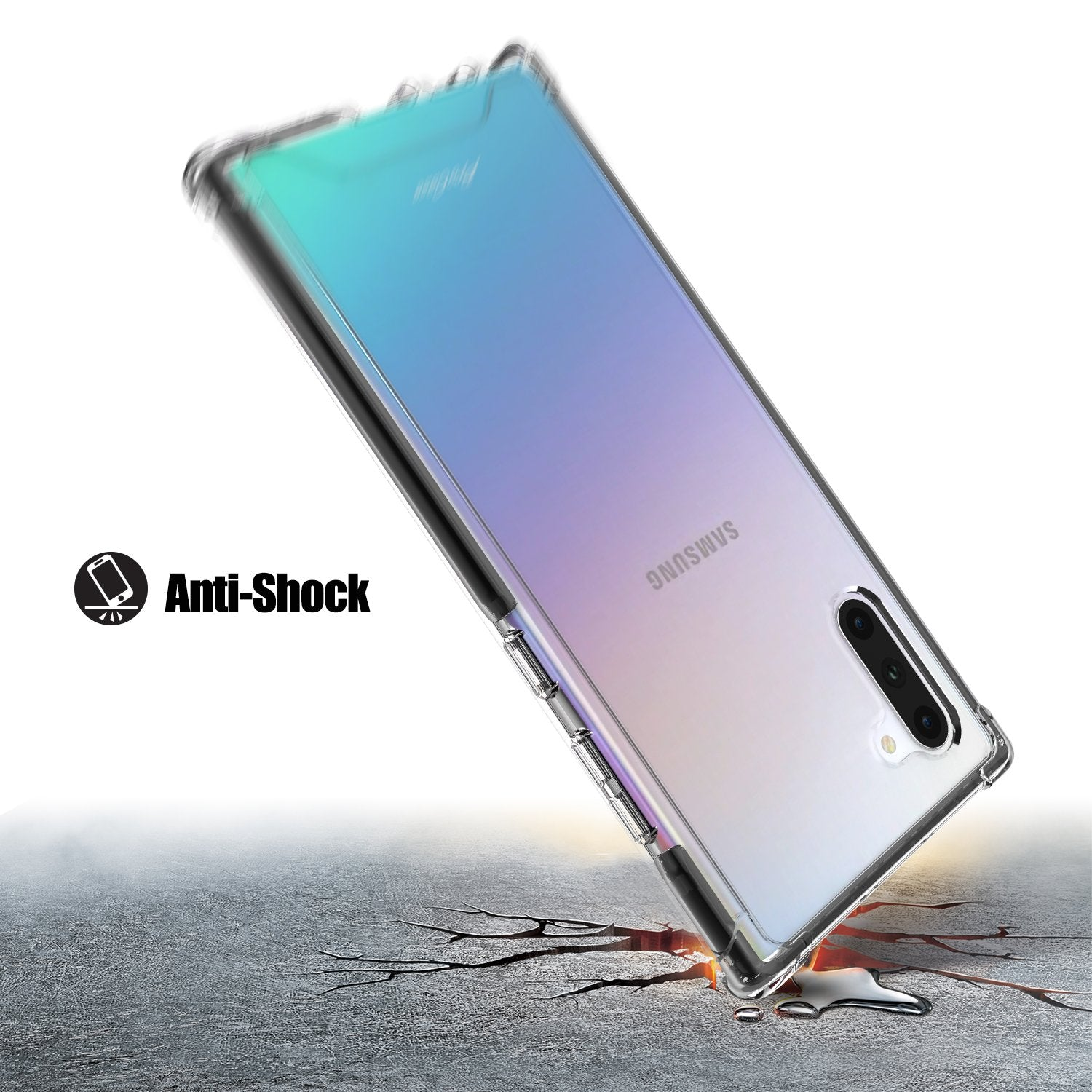 Galaxy Note 10 2019 Ultra Protection Clear Case | ProCase