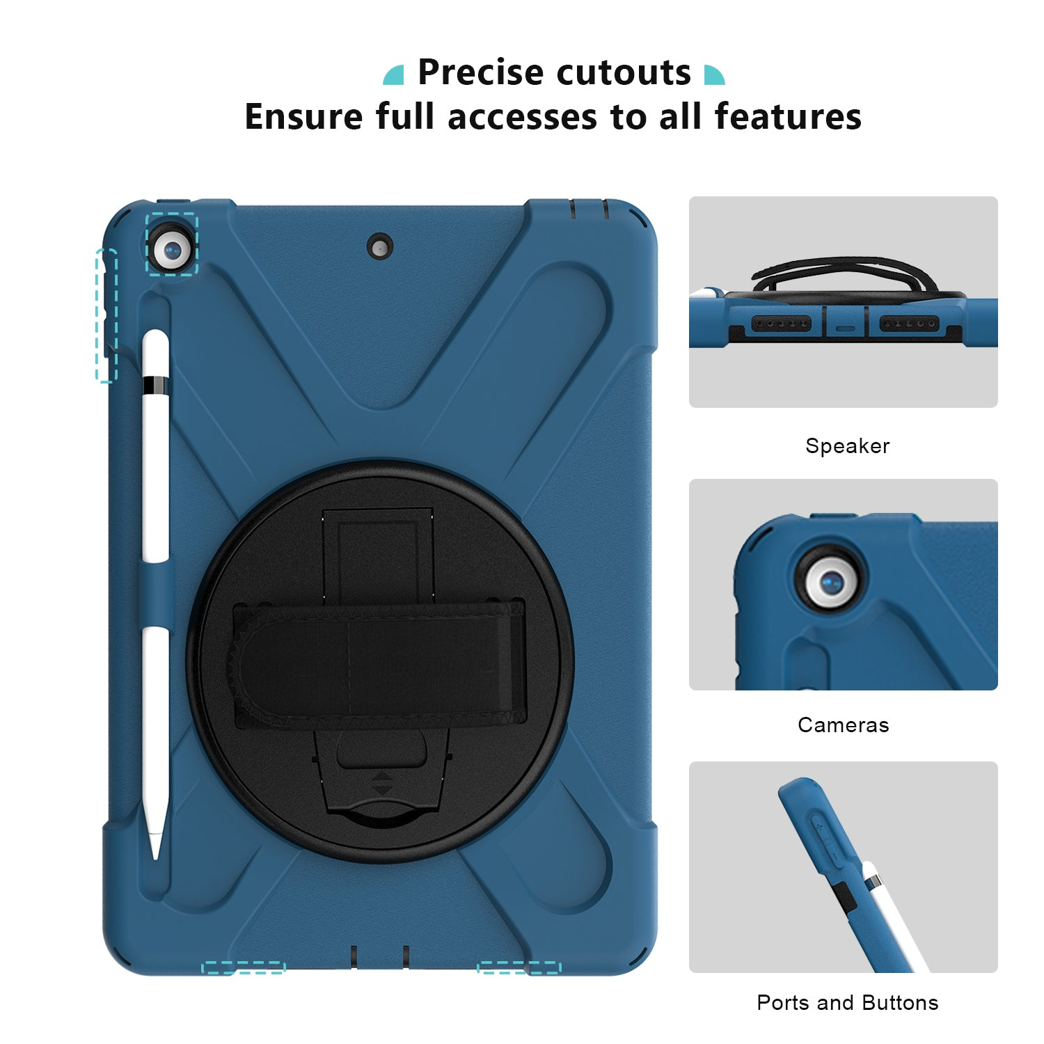 iPad 10.2 7th/8th 2019 2020 Generation Heavy duty Case | ProCase