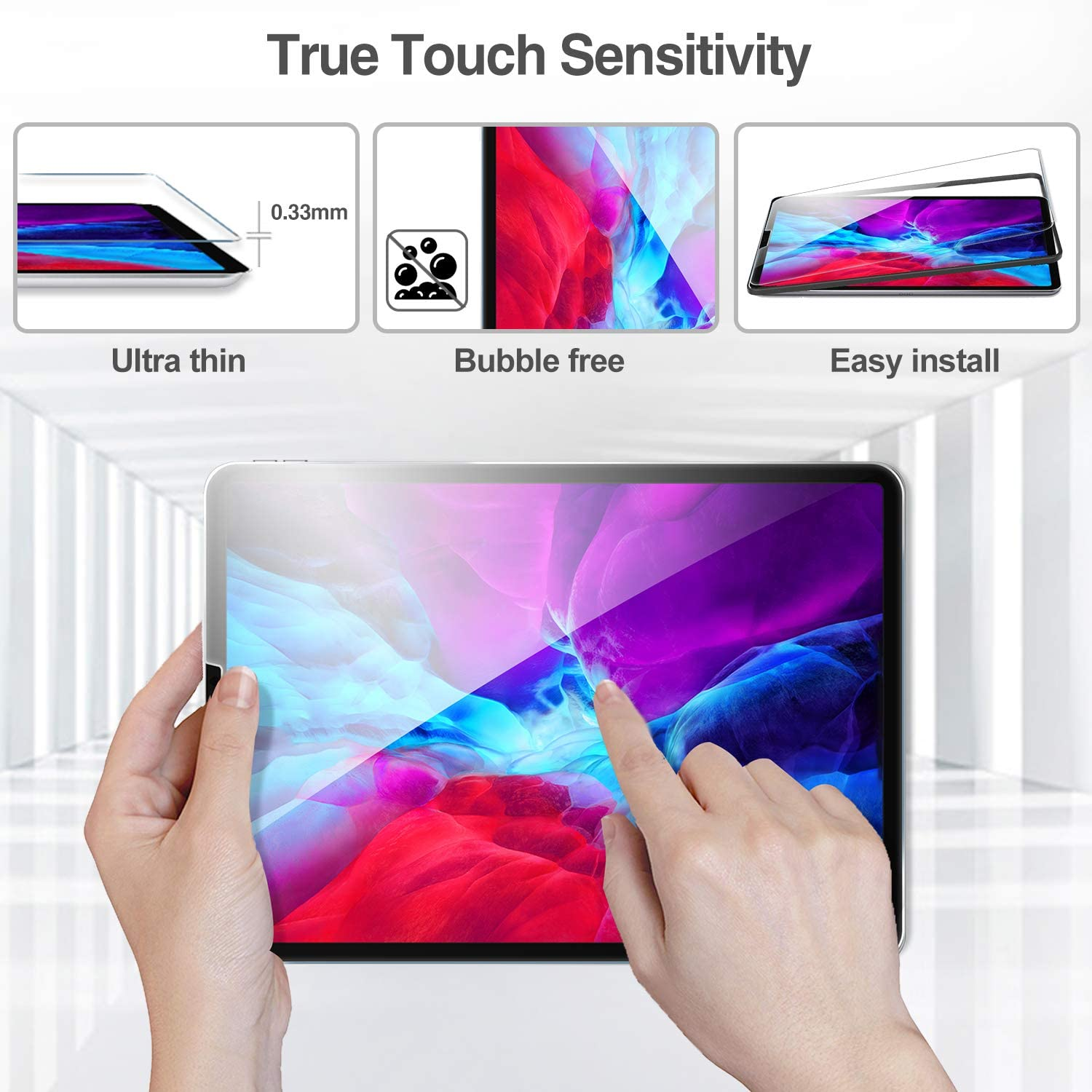 iPad Pro 12.9 4th 2020/3rd Generation 2018 Screen Protector | ProCase