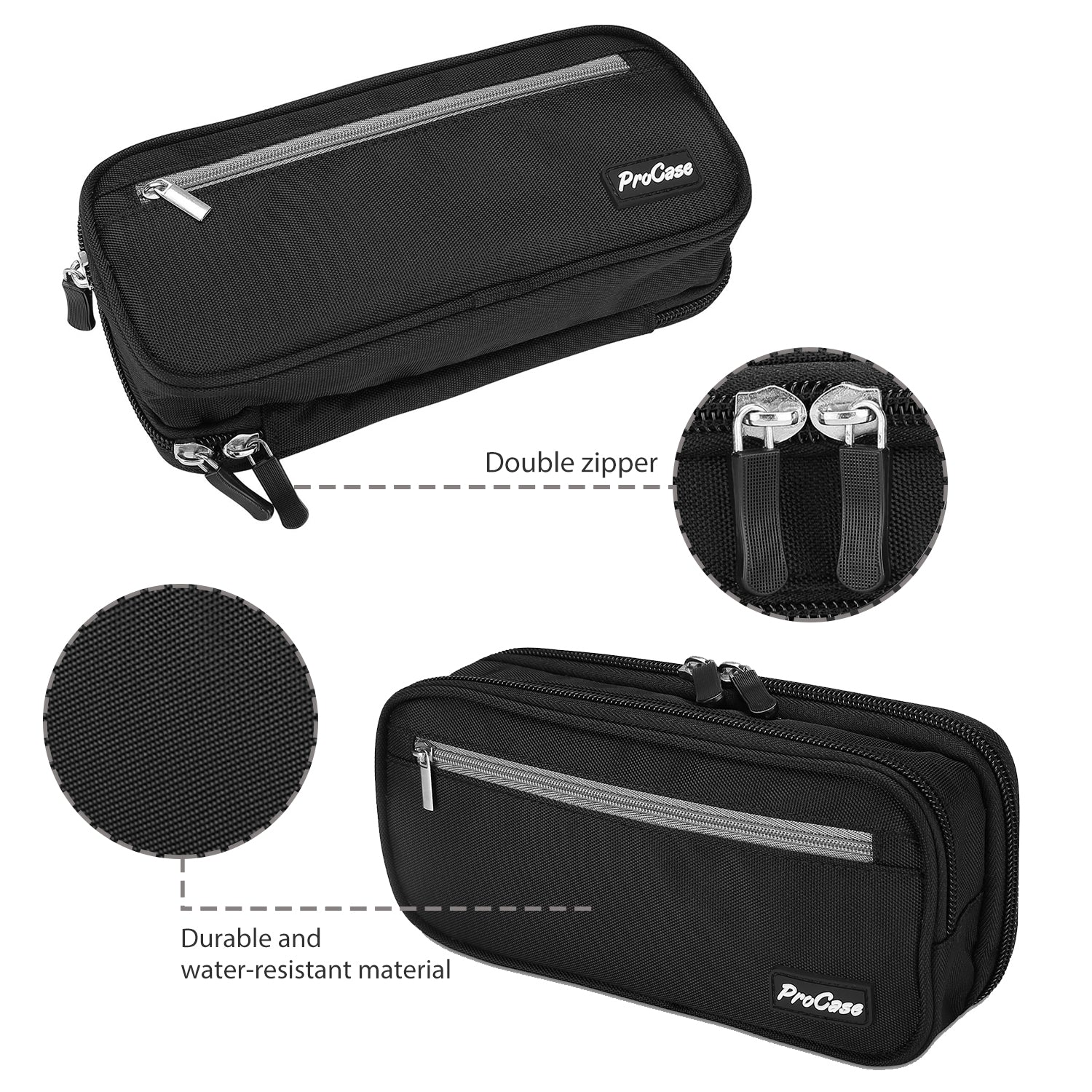 Portable Pencil Bag Pen Case | ProCase