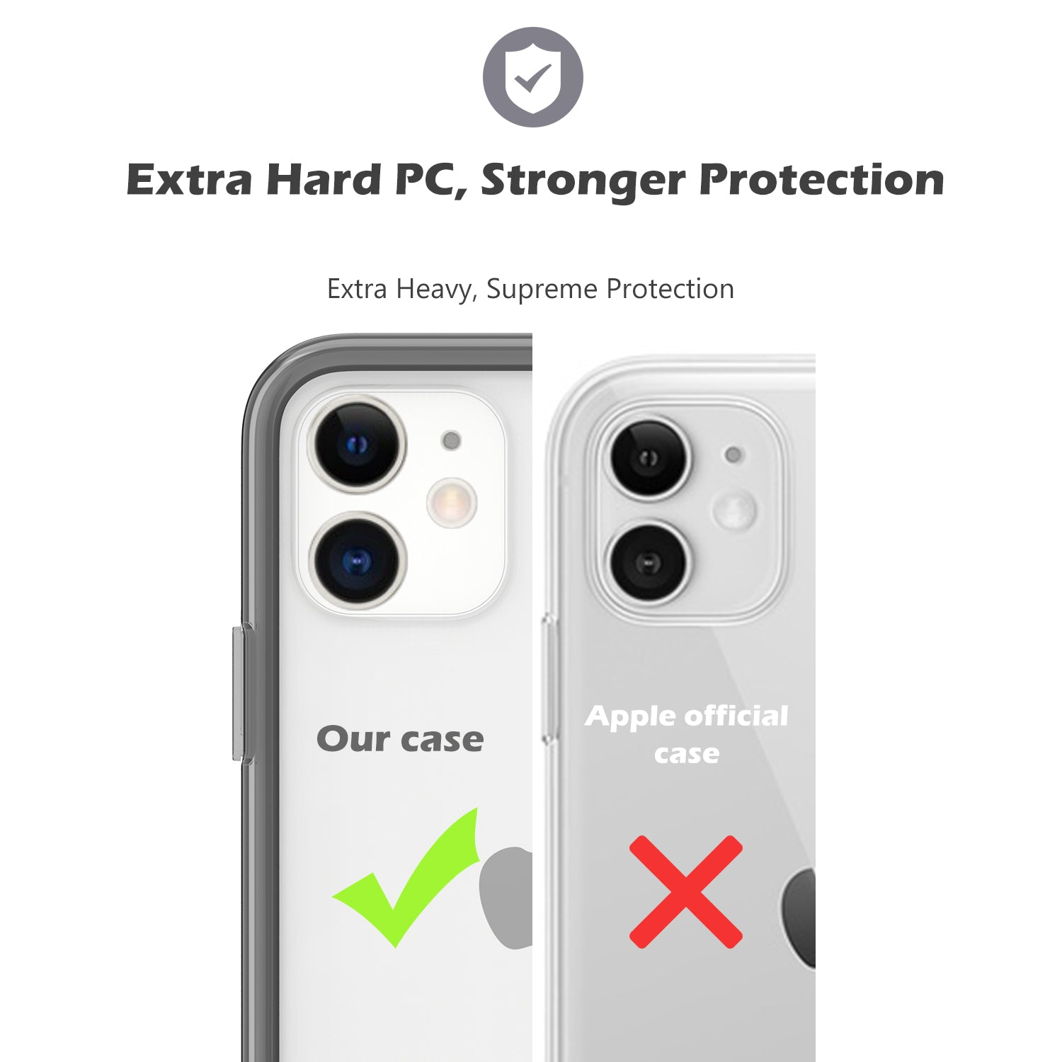 iPhone 11 2019 Ultra Protection Clear Case | ProCase