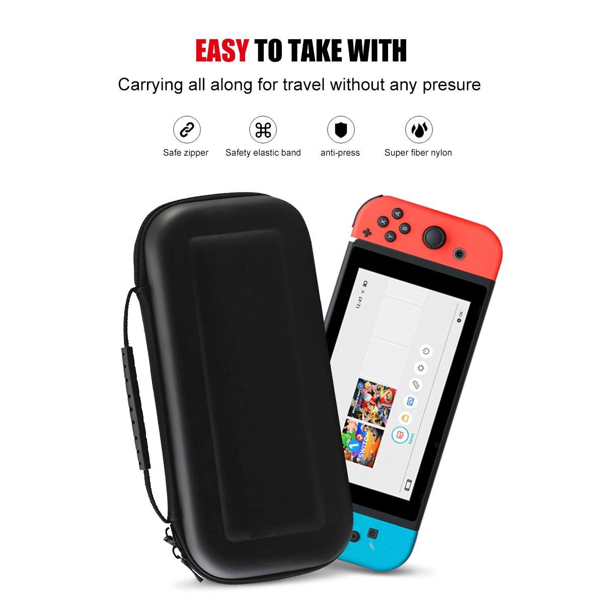 Travel Carrying Case for Nintendo Switch | ProCase