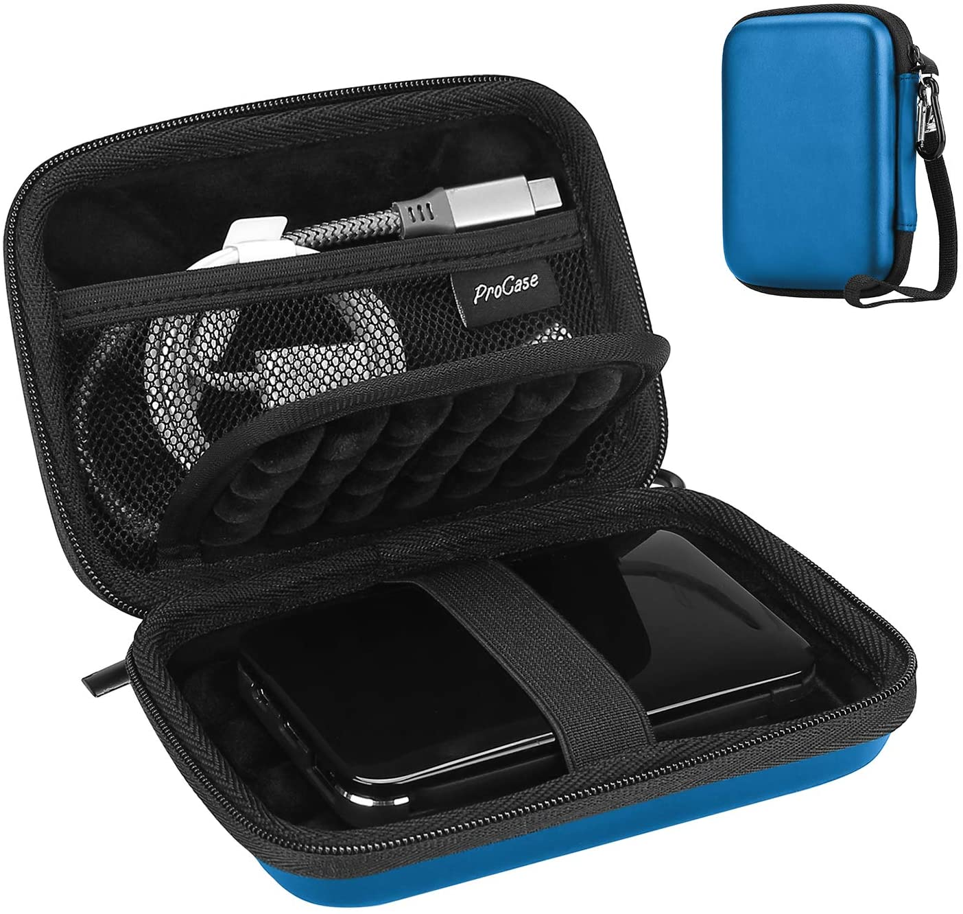 Travel Carrying Case for Canvio Western Seagate Hard Drive | ProCase