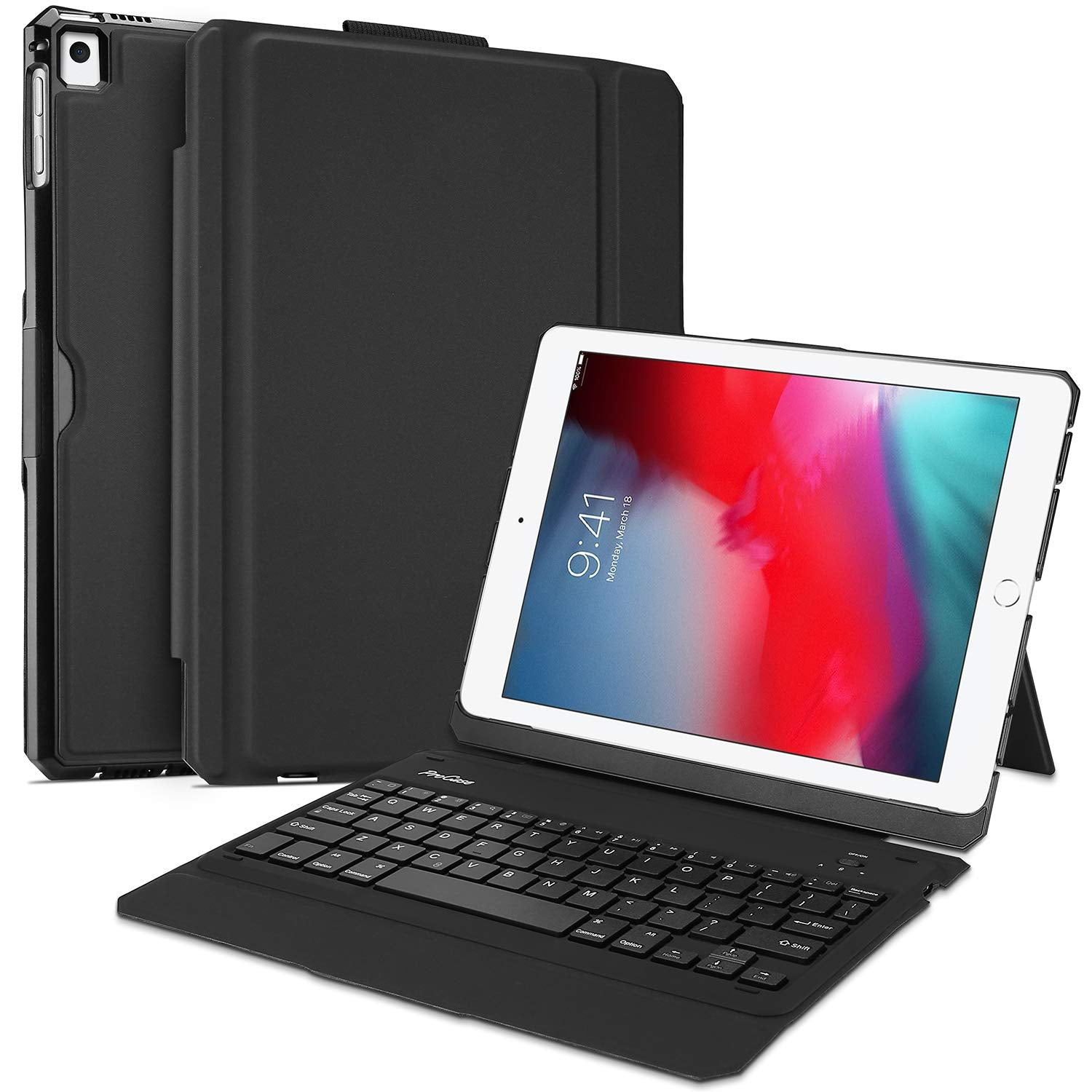 iPad 9.7 2018 6th/2017 5th Generation Keyboard Case | ProCase