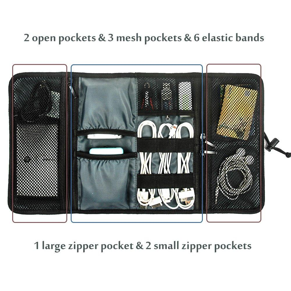 Travel Gear Organizer Electronics Accessories Bag | ProCase