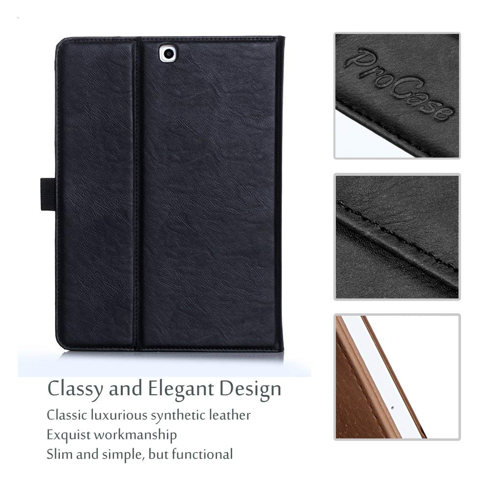 Galaxy Tab S2 9.7 T810 Leather Folio Case | ProCase