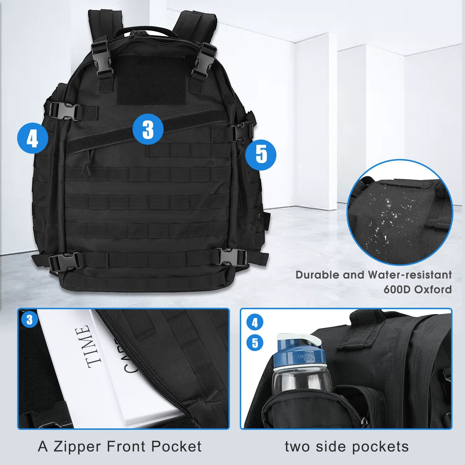 46L Military Tactical Backpack | ProCase