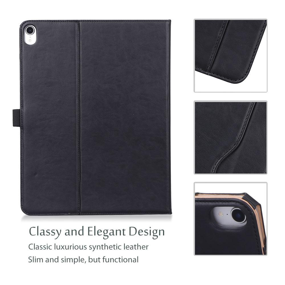 iPad Pro 12.9 3rd Generation 2018 Leather Folio Case | ProCase