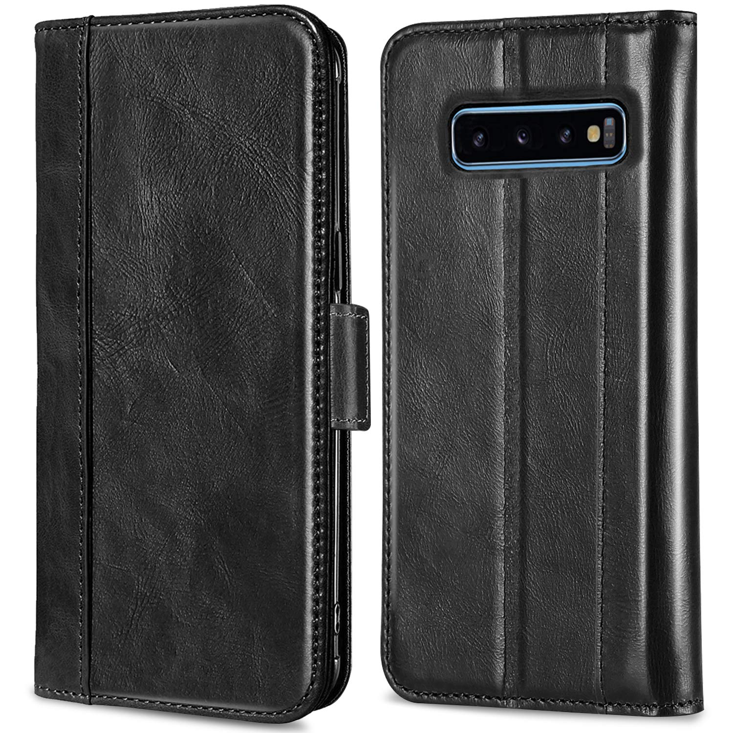 Galaxy S10 Plus 2019 Genuine Leather Case