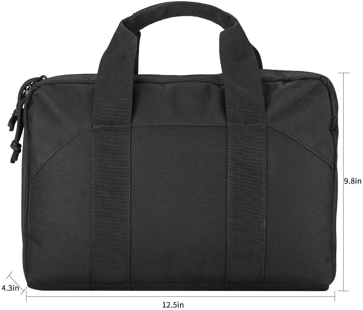 Tactical Pistol Case Shooting Range Duffle Bag | ProCase