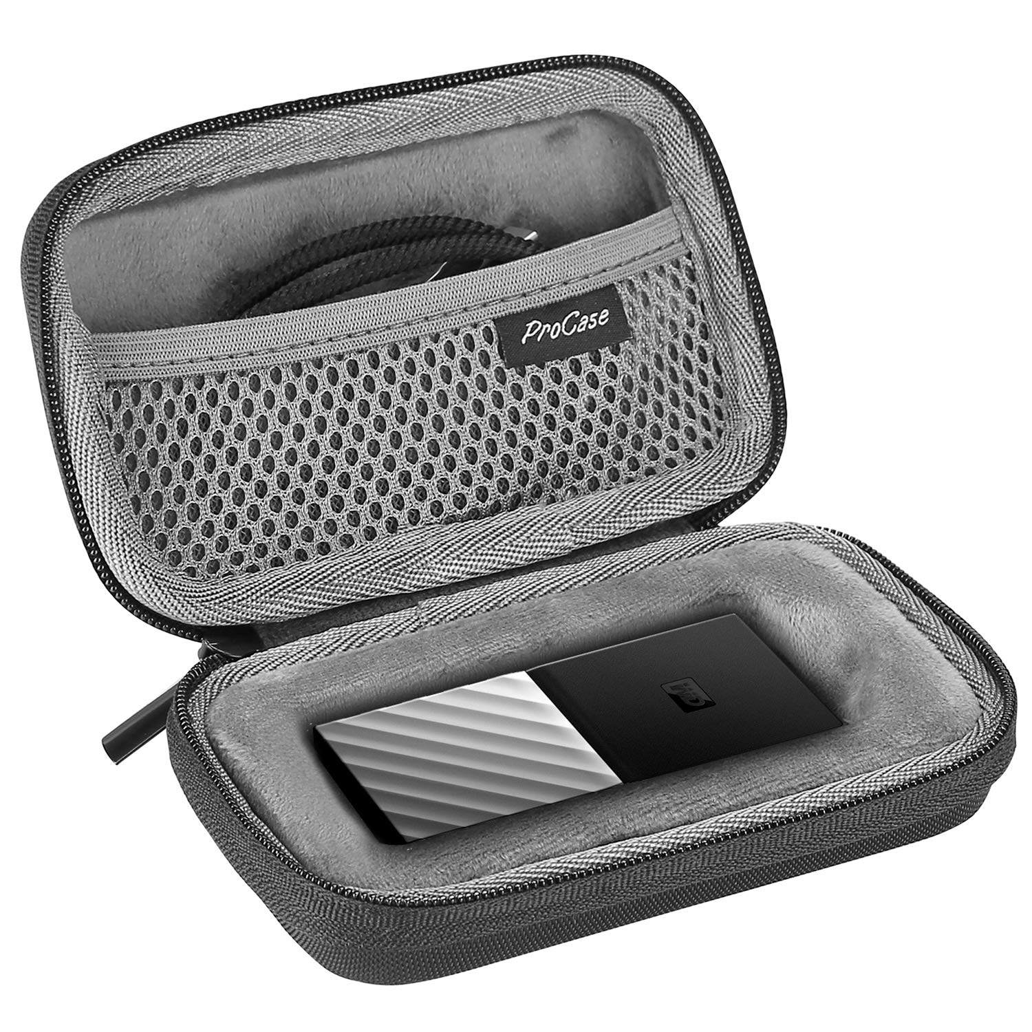 Travel Carrying Case for WD My Passport SSD Portable Storage | ProCase