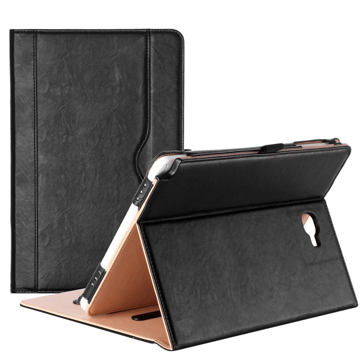 Galaxy Tab A 10.1 2016 P580 Leather Folio Case with S Pen