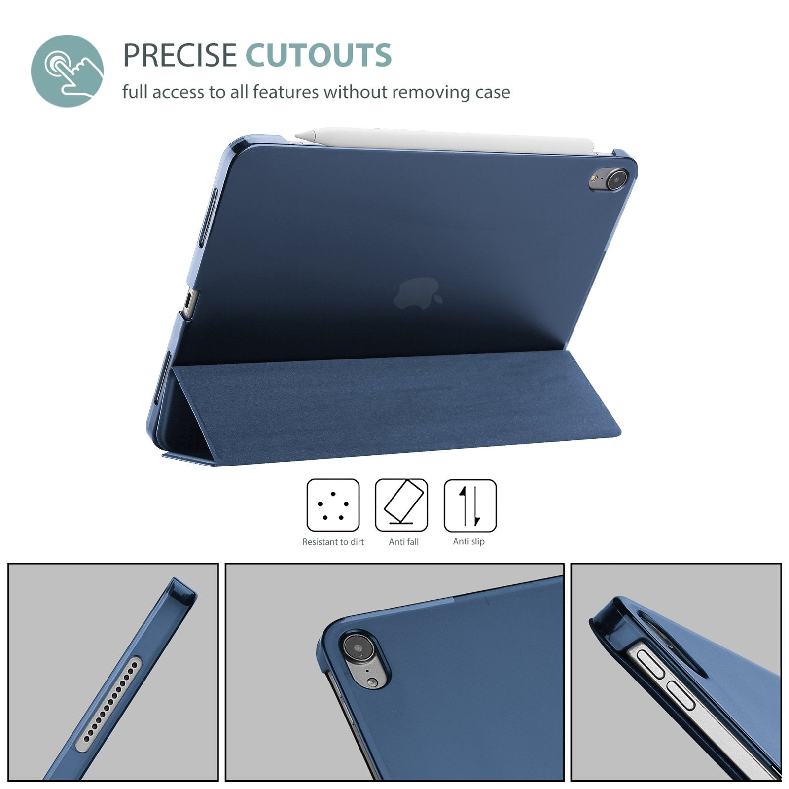 iPad Air 4 10.9 inch 2020 Generation Case with Screen Protector | ProCase